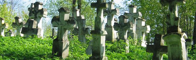 Zabytkowe cmentarze w okolicach Horyńca-Zdroju